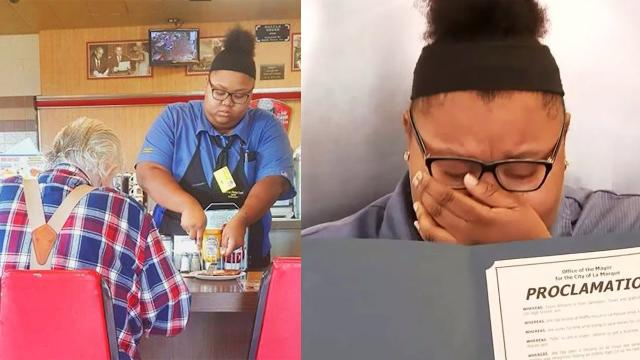 This Secret Photo Of A Waffle House Waitress Went Viral After It Revealed What She'd Done On Shift