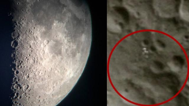 UFO Above The Moon confirmed In Close Telescope Footage | Scary Videos | NASA UFO Sighting 2016