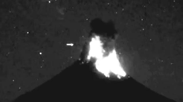 Why Are UFO's Always Seen As Volcanoes Erupt?