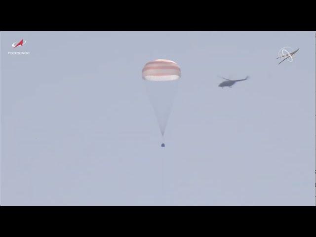 Touchdown! Soyuz MS-17 crew safely lands in Kazakhstan
