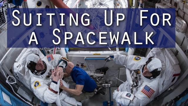 Suiting Up for a Spacewalk