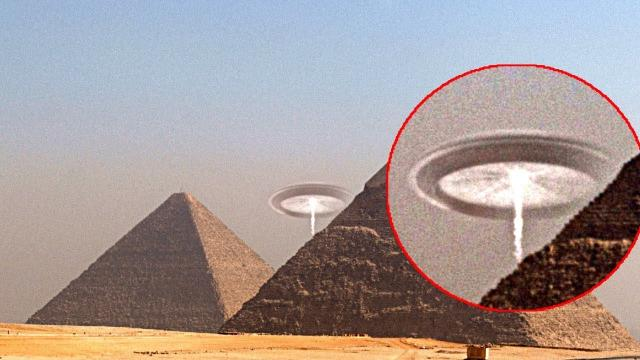 UFO Spotted Above Pyramid | Real Life UFO Footage, Fox News