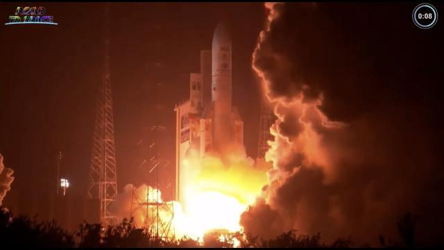 Ariane 5 rocket launches SES-17 and French military satellites