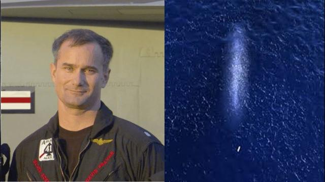 US Navy pilot says mystery 'dark mass' emerged from ocean and swallowed torpedo