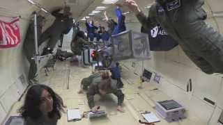 MIT students can fly (in reduced gravity)