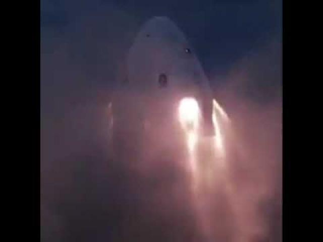 SpaceX Crew Dragon Abort Engines Test Fired