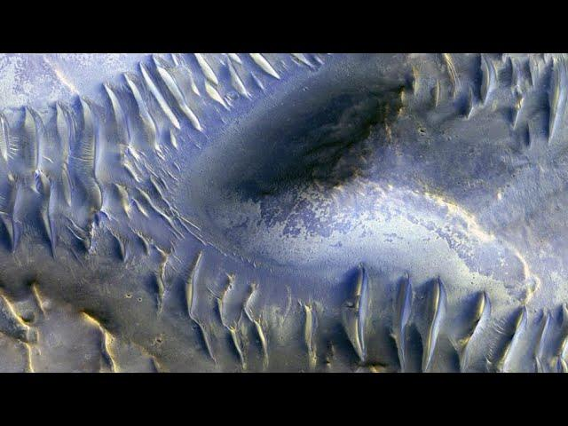 Stunning High Resolution Aerial Images Of Mars