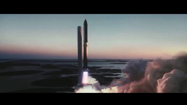 See SpaceX Starship Launch in New Animation (With Elon Musk Explaining)