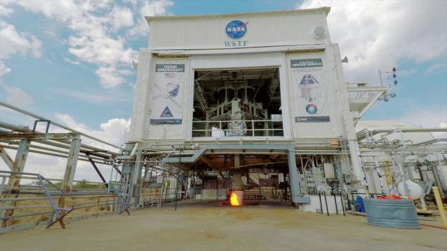 Major Props! Orion Propulsion Test in New Mexico a Success