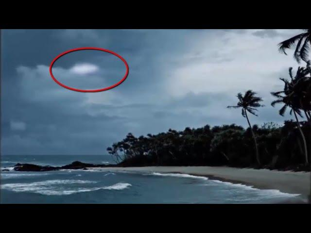 Strange Object In the Sky CGI?