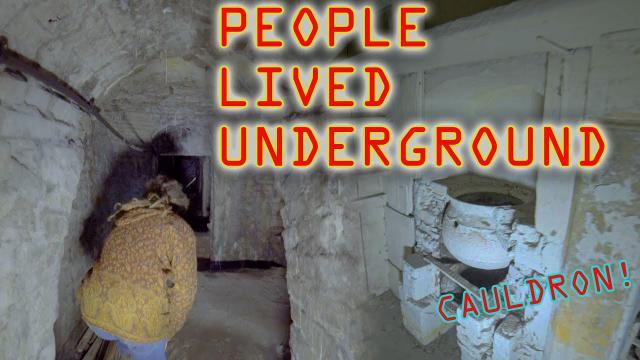 Bristol Victorian Underground Tunnels PEOPLE LIVED HERE v2