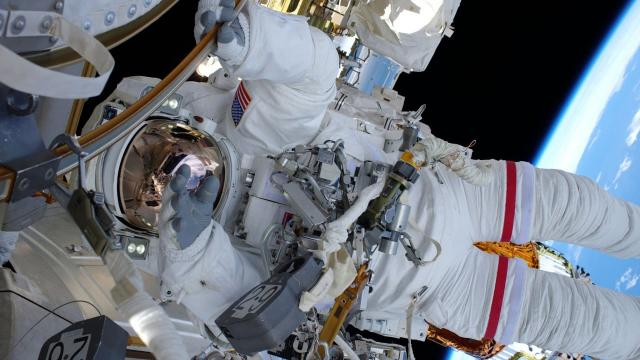 #ICYMI: Spacewalkers Wrap up Power Upgrades