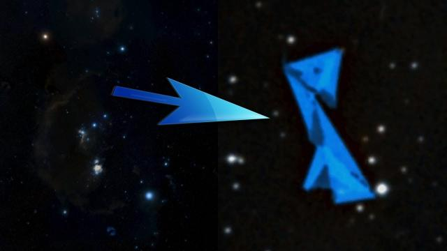 Giant Structure Or UFO Found In The Orion Constellation?