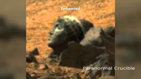 Head Of Apollo Found On Mars?