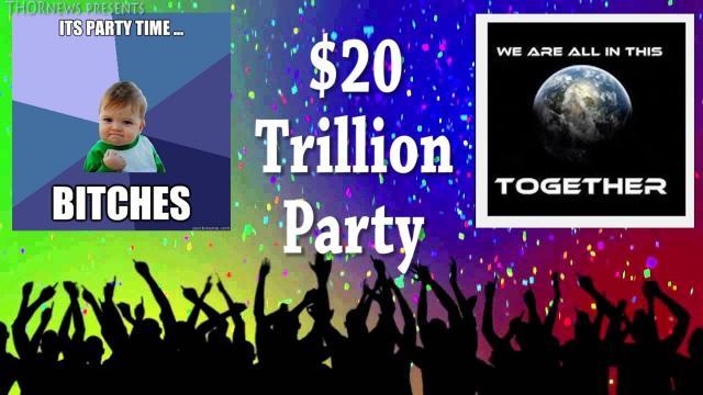 $20 Trillion Dollar National Debt Dance Party!