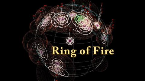 'Ring of Fire'  Earthquakes & spoken Word poetry