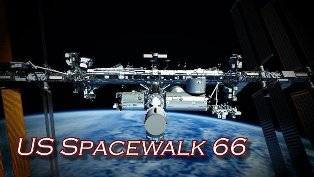 US Spacewalk 66 Animation