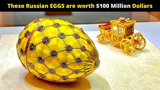 The hunt for the million-dollar Faberge eggs
