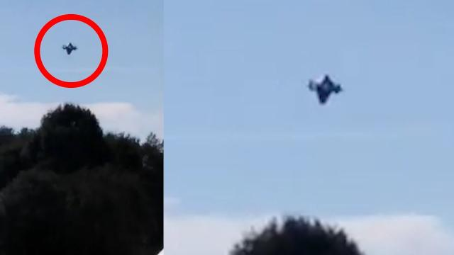 CRAZY! Broad-Daylight UFO [Metallic Saucer] 2020-2021