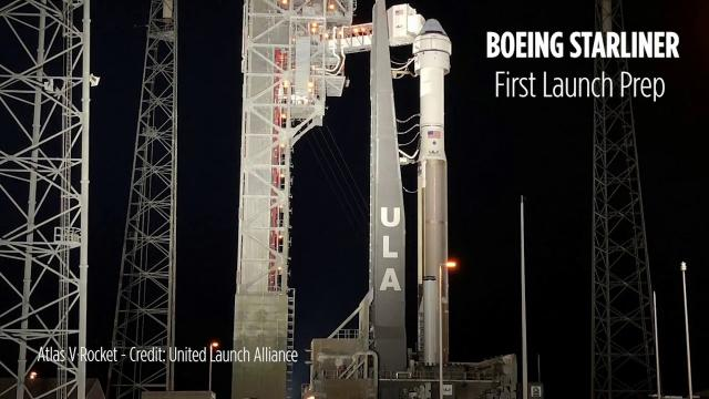 Boeing Starliner Launch Prep - Inside Mission Control and Crew Access Arm