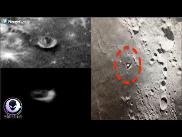 WHOA! Proof Of Mobile Alien Bases On The Moon? 3/12/17