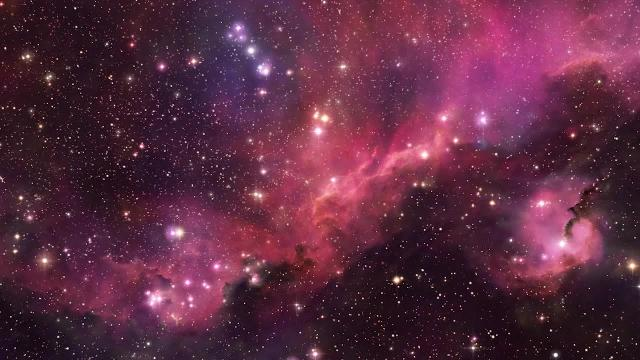 Seagull Nebula - Zoom Into an Amazing 3D View