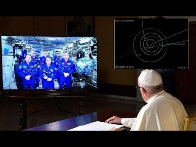 """""""Judge Of Heaven"""" Appearance Stuns Scientists As Pope Moves To Calm Fears"""