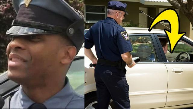 Cop Pulls Over a Car, But His Life Changes When the Driver Rolls Down his Window