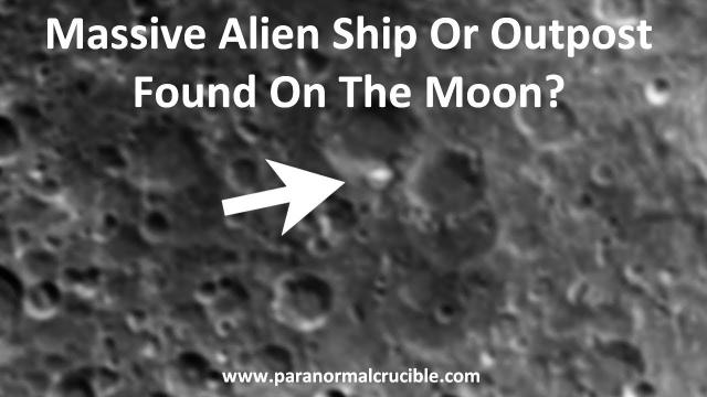 Alien Outpost Or Ship Found On Moon?