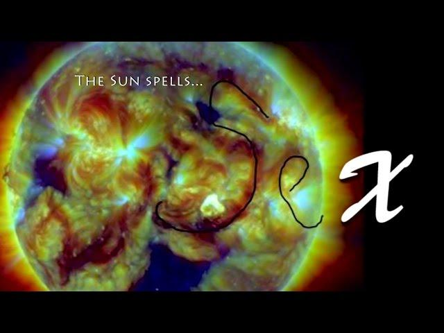 The Sun spells Sex.