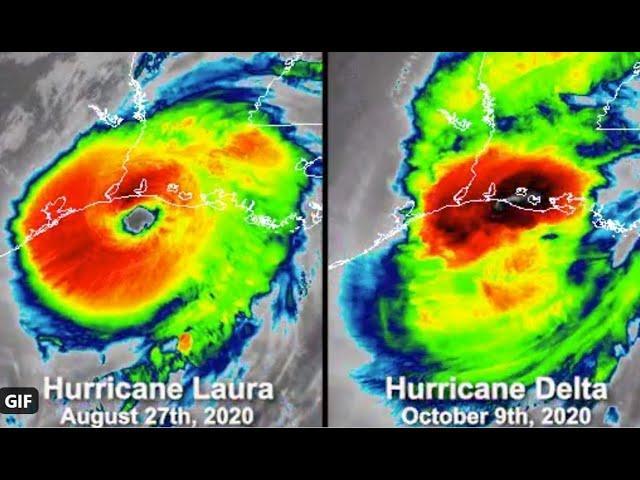 Hurricane Delta & the October Eris storm.
