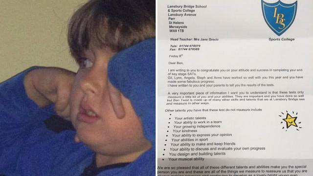 Boy With Autism Fails Exam, Teacher Sends Home Letter That Is Going Viral