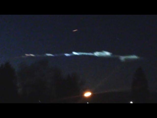 UFO Sightings HAARP Exercise Over CA? Strange Glowing Clouds! Explained? 2015