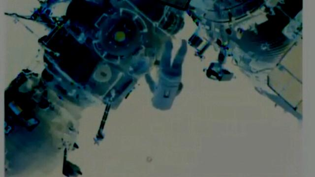 UFO Lou -  'Unknown object' Near I.S.S. Cosmonaut - Today!