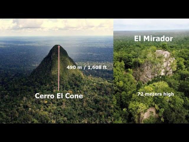 Is this strange Mountain actually a hidden Pyramid?