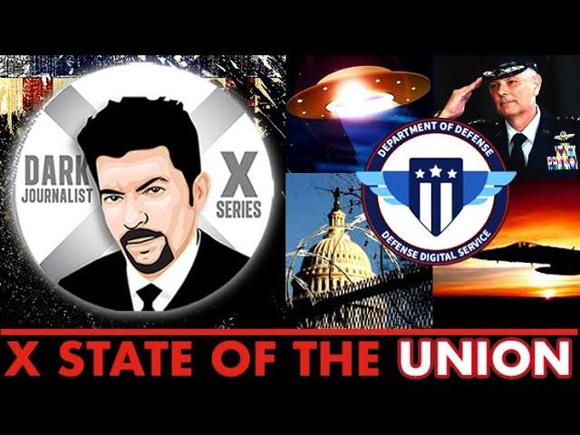 Dark Journalist X State Of The Union: UFOs COG & The DOD AS8003 MYSTERY!