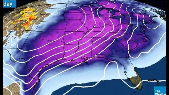 Big Freeze, Storm Next Week & Volcanoes