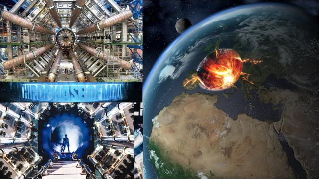 Panic At CERN! Woman Lost In Vortex!! Gateway To New World!? UFO Alien Contact! 12/6/2016