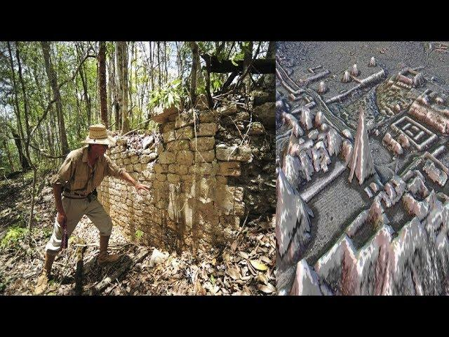 Ancient Pyramids Discovered Hidden In The Lost City Of The Maya