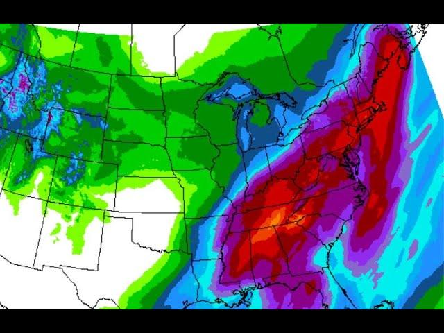 East Coast DOOM - Worst. Case. Scenario. Storm. freeze. Storm. Freeze. a WEEK+