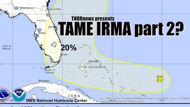 20% CHANCE OF TROPICAL DEVELOPMENT - Tame Irma part 2?