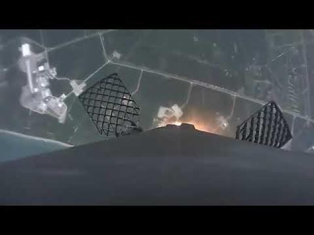 SAOCOM 1B | Launch and Landing