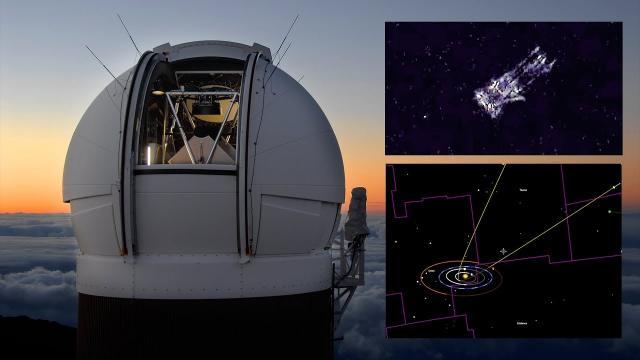 Astronomers discover Interstellar Comet or is it an Interstellar Alien Spacecraft!