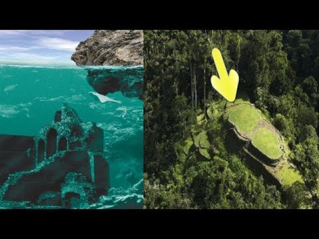 Ancient lost city found in Colombia