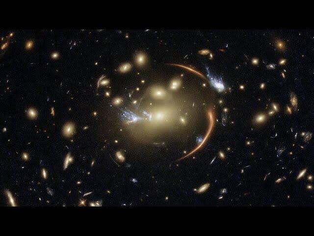 Cosmic Lens Flare