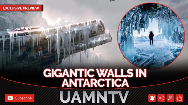 Ancient Gigantic Walls Discovered in Antarctica...THE MOST SECRET REGION ON OUR PLANET!