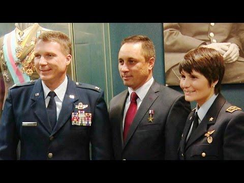 Expedition 42/43 Crew Conducts News Conference And Traditional Ceremonies In Russia