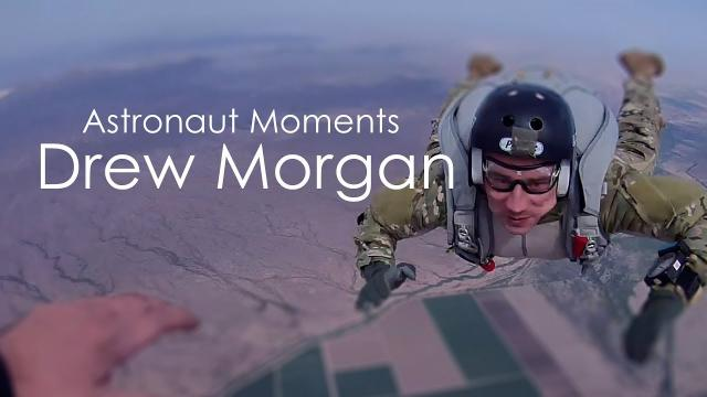 Astronaut Moments:  Drew Morgan