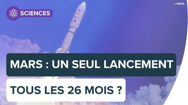 Pourquoi les lancements vers Mars ne peuvent se faire que tous les 26 mois? | Futura