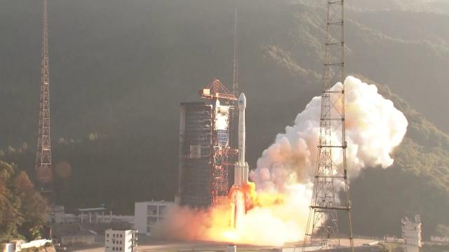 China Launches Two BeiDou Navigation Satellites
